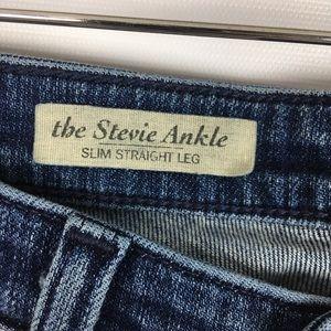 Ag Adriano Goldschmied Jeans - AG | the Stevie ankle slim straight leg 0287
